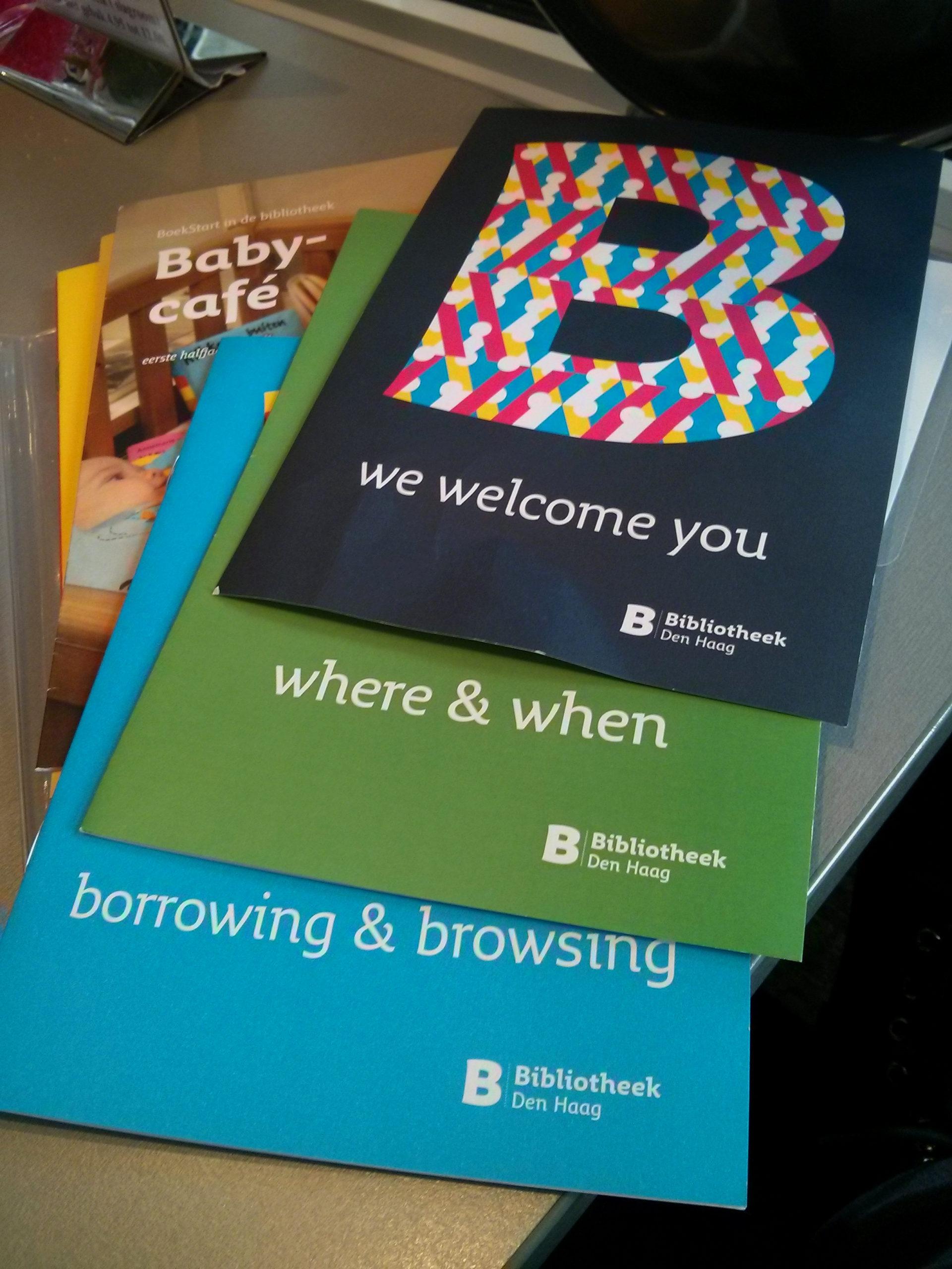 כל מה שרצית לדעת על הספרייה ולא העזת לשאול בהולנדית (אז יש גם באנגלית)